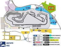 Entrada F1 Montmelo Parking B