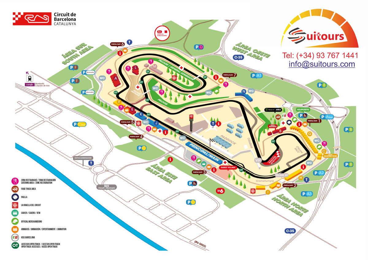 Circuito Valencia F1 : Entradas motogp barcelona entradas gp barcelona circuito montmelo
