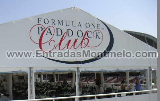 Formule 1 Paddock Club Montmelo