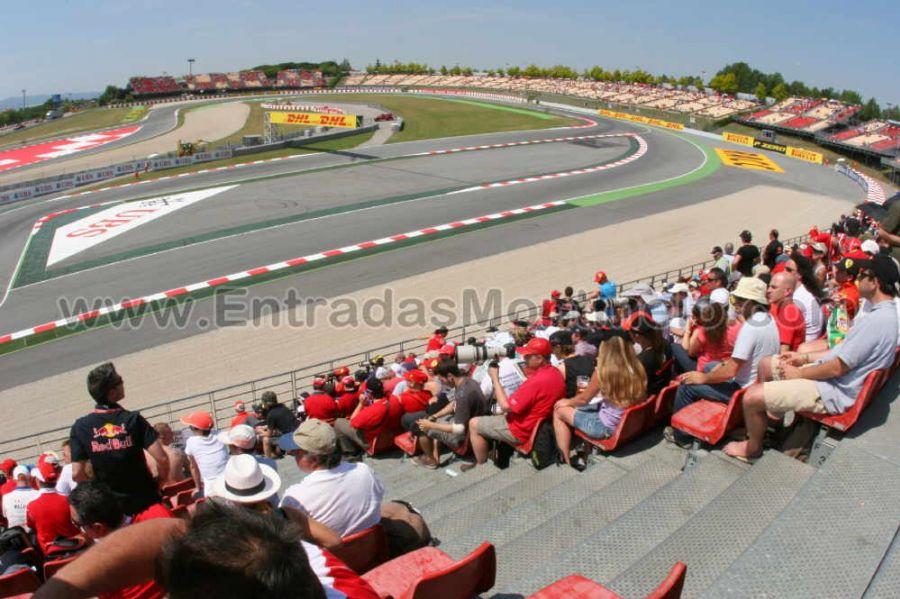 Circuito Montmelo : Entrada tribuna h motogp montmelo circuit de catalunya