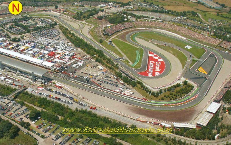 Circuito Montmelo : Entrada tribuna n montmelo f1 barcelona entradas gp barcelona